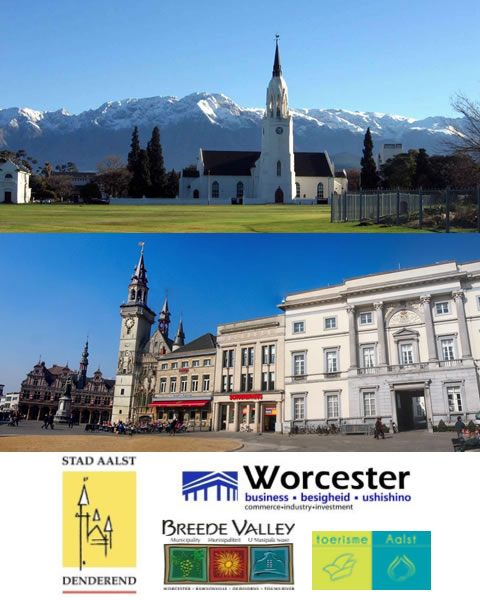Aalst & Worcester Twinning Feature items with showcase themes